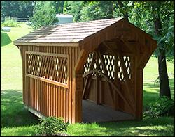 Backyard Bridge Designs free pond bridge plans build arches for arched bridge custom wood bridge Select Pine Bridges