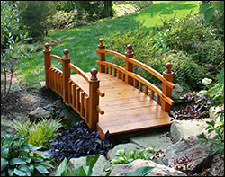 Backyard Bridge Designs 25 stunning garden bridge design ideas Red Cedar Bridges