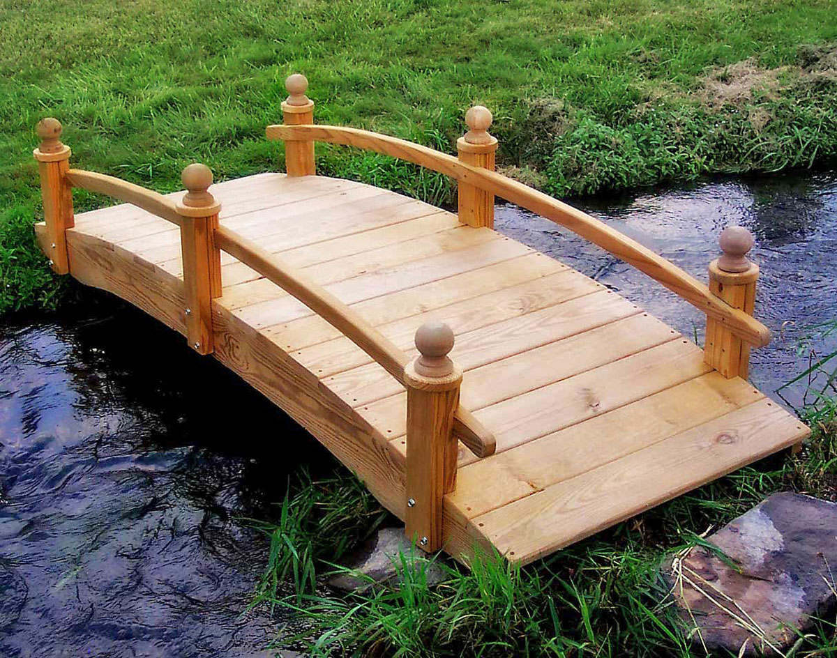 Построить мост своими руками фото